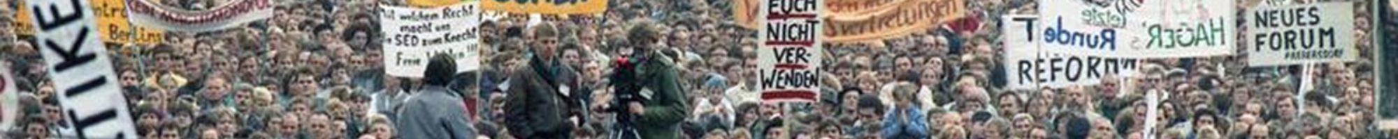 Friedliche Revolution - Plauen/Vogtland 1989